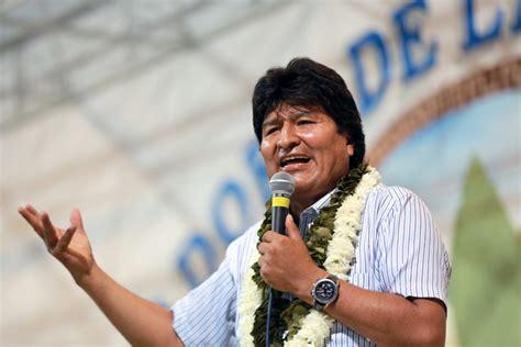 bolivia evo morales calls  social movements