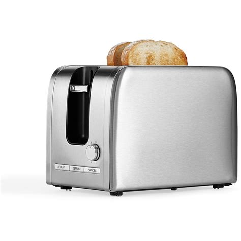 toaster stainless contempo 2 slice stainless steel toaster t386 big w