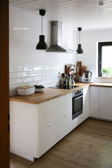 ikea ringhult  voxtorp small warm minimalist kitchen
