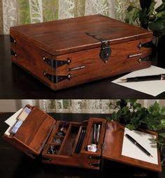 vintage lap desk  letter writing portable desk