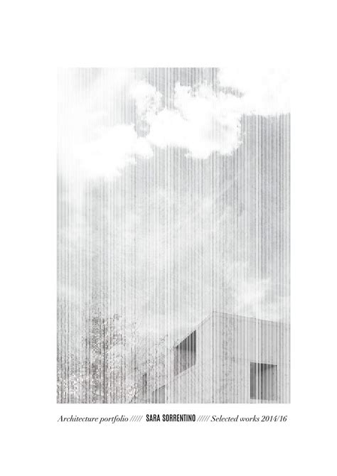 15130 architecture portfolio design layout sorrentino architecture portfolio 2016 by