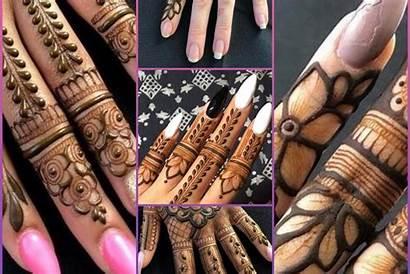 Mehndi Finger Easy Eid
