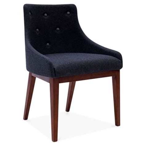 cult living grey upholstered dining chair