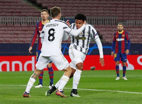 Ronaldo, McKennie Take Juve Above Barca In Group G