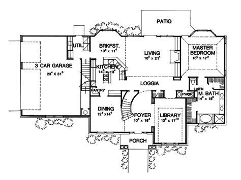 Montecristo Greek Revival Home Plan 111d-0028