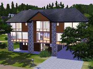 Mod The Sims - Beautiful Vista! Contemporary Wood and