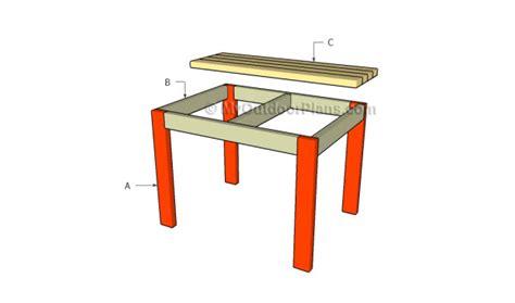 table plans myoutdoorplans  woodworking plans