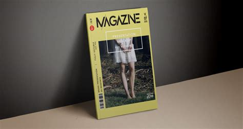 psd magazine mockup cover vol psd mock  templates