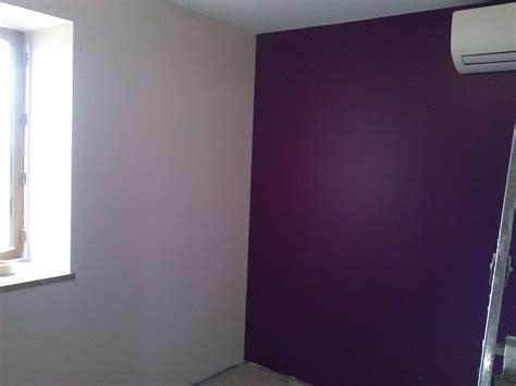 couleur de mur de chambre peinture murale couleur