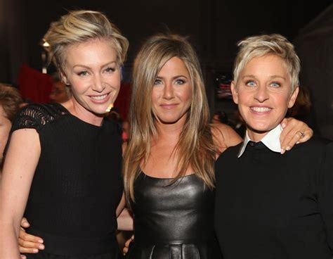 jennifer aniston michelle obama  join ellen degeneres