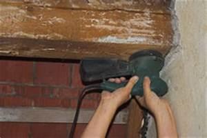 Holzbalken Als Raumteiler : holzbalken schleifen und streichen meine tipps ~ Sanjose-hotels-ca.com Haus und Dekorationen