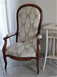 Fauteuil Style Voltaire : fauteuil voltaire forme violon style louis philippe elisa vendu accessoires maison par ~ Teatrodelosmanantiales.com Idées de Décoration