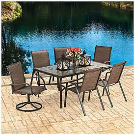 wilson fisher 174 sanibel 7 piece dining set big lots