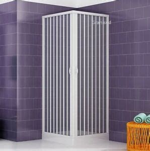 duschkabine 80x80 kunststoff duschkabine in pvc kunststoff faltwand duschabtrennung duschtrennwand z b 80x80 ebay