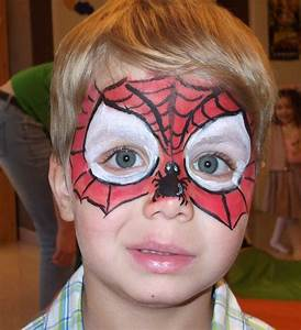 Maquillage Simple Enfant : maquillage spiderman facile google search crafts pinterest ~ Farleysfitness.com Idées de Décoration