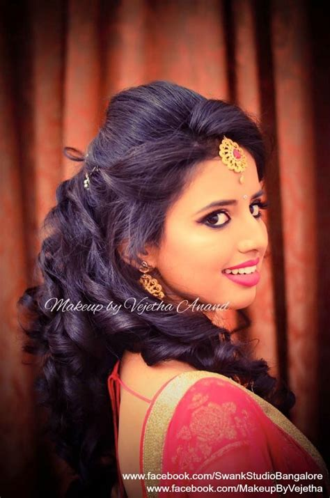 indian bridal hair ideas  pinterest pakistani