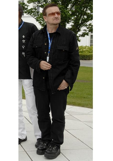 How Tall Is Bono?  Celebrity Heights  How Tall Are