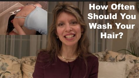 How Often Should You Wash Your Hair ? Youtube