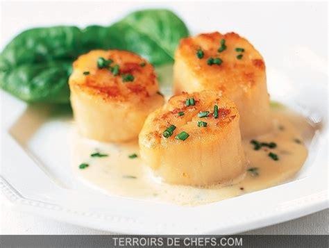 recette de cuisine gastronomique de grand chef coquilles jacques au cidre recette de haute normandie