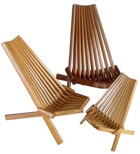 clam chair multi wood