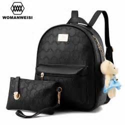 rucksack designer backpack brand 2016 chains pattern design leather backpacks for