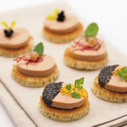 canapé foie gras barra de foie de oca