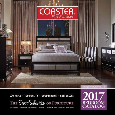 Coaster Furniture Florida by 2017 Coaster Bedroom Catalog By Seaboard Bedding And