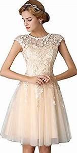 eudolah women39s applique mini evening ceremony prom dress With amazon robe ceremonie