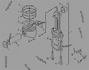 1360605 Piston  U0026 Rod Group - Engine - Marine Caterpillar 3126