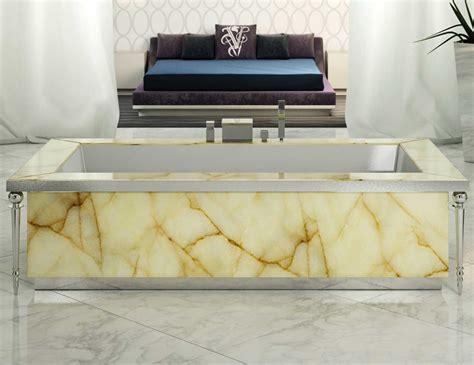 visionnaire portorose high  italian bathtub  honey