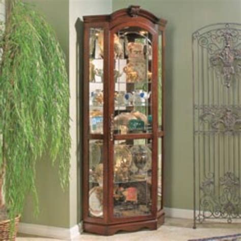 Pulaski Cambridge Display Cabinet by Pulaski Cambridge Corner Curio Cabinet Interior