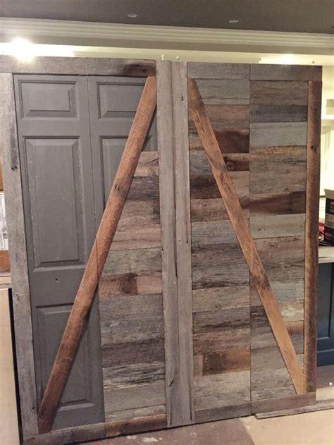 create  beautiful reclaimed wood barn door   ugly