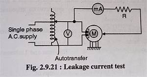 Deepakkumar Yadav  Leakage Current Test Of Motors And