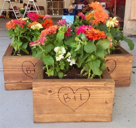 cheaper alternative  fresh cut flowers planter boxes