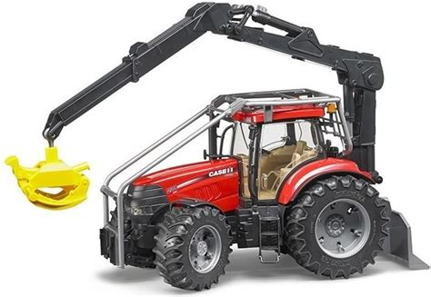 bruder farm bruder case ih puma 230 cvx forestry tractor tractors