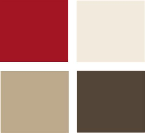 Colours red colour combinations homes gardens brown color. Exterior: Bittersweet Chocolate (med brown) and Swiss Coffee (white color) by Glidden (With ...