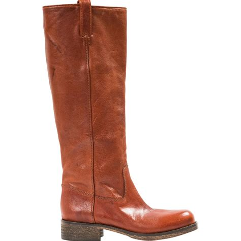 light brown boots arya light brown quot cuoio quot nappa leather boots paolo
