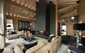 deco interieur style chalet idees pour atmosphere chaleureuse With decoration interieur chalet moderne