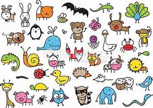 small cute cartoon animals for drawing - Google Search ...