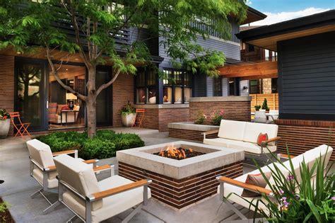 Outdoor Patio Area by Designing A Patio Around A Pit Diy