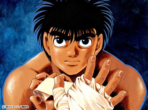 Knockout Anime Wallpaper - makunouchi ippo character bomb