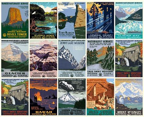 1000+ Images About Vintage Us National Parks Posters On