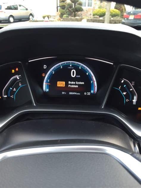 emission brake vsa eps problem  honda civic