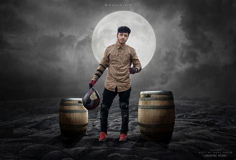 Moon Rider Photo Manipulation Effect Photoshop Tutorial
