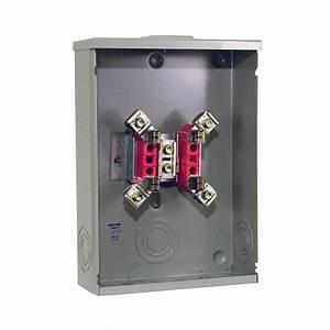 Milbank 200 Amp 4-terminal Ringtype Overhead  Underground Meter Socket-r7018-xl-tg