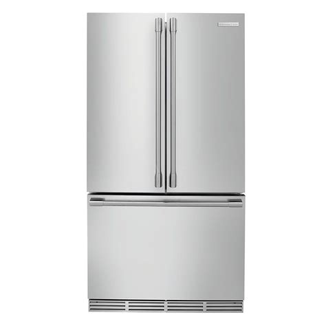 Counter Depth Refrigerator Dimensions Sears by Electrolux Icon 22 6 Cu Ft Counter Depth Stainless Steel