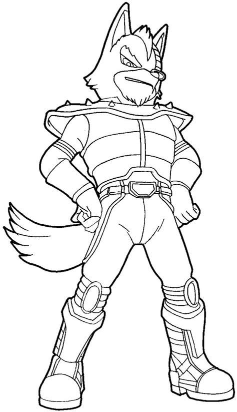 draw wolf odonnell   star wolf team