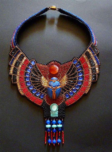 Beautiful jewelry in Egyptian style