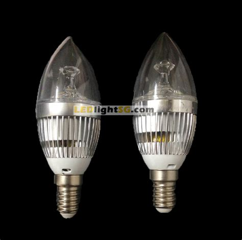 power saving e14 led bulb warm white