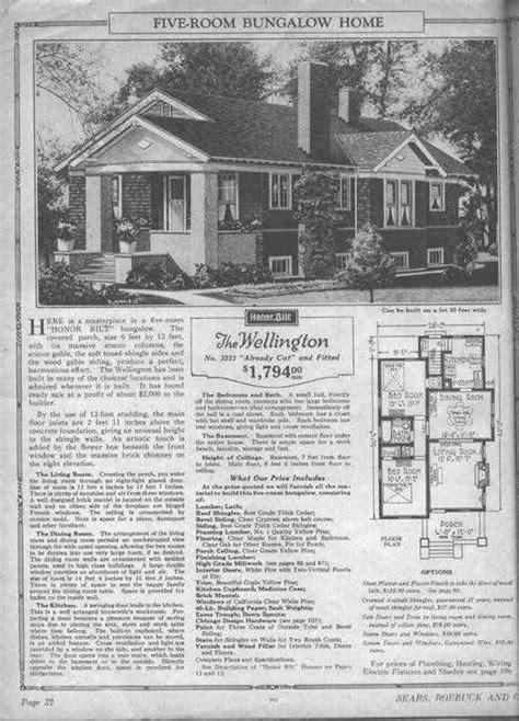 sears wellington  p   p  craftsman house